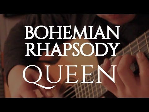 "Queen ""Bohemian Rhapsody"" on Fingerstyle by Fabio Lima"