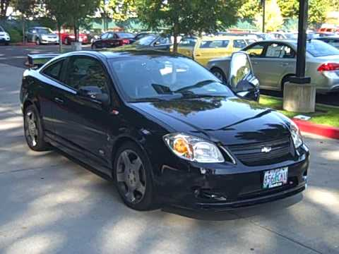 2006 chevrolet cobalt ss coupe **black** sporty fast handles great 5 chevrolet cobalt brakes sluggish at Chevrolet Cobalt Black