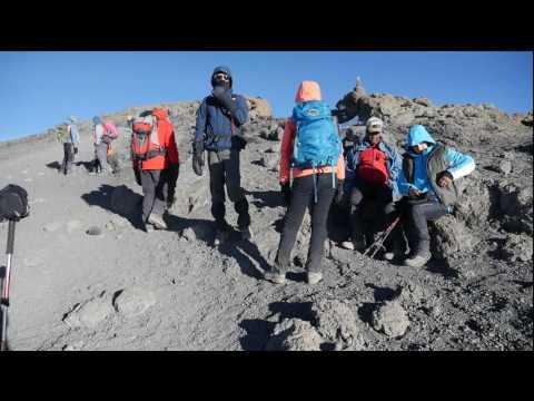 Kilimanjaro - Climbing Juli 2016