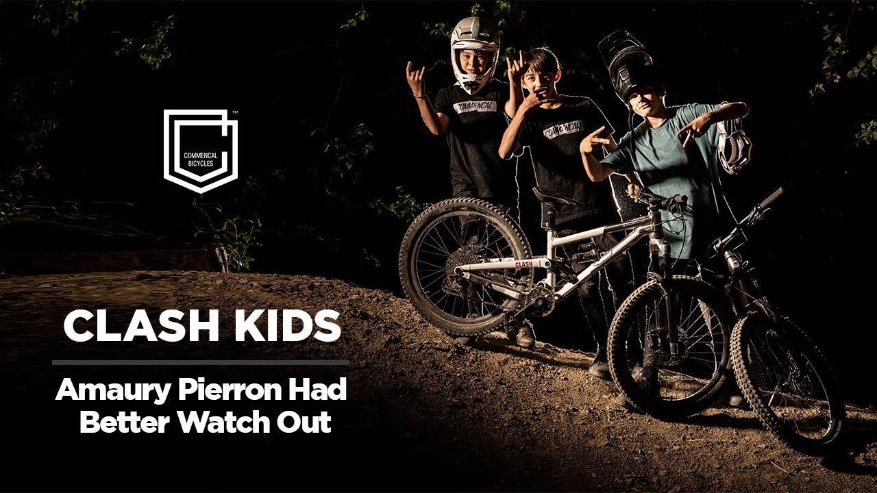 CLASH Kids - Amaury Pierron Had Better Watch Out