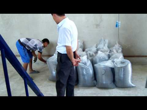 Used tire recycling for powder in our Uzbekistan user