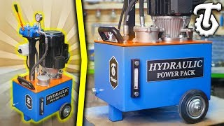 Hydraulic power pack - DIY *Subtitles*
