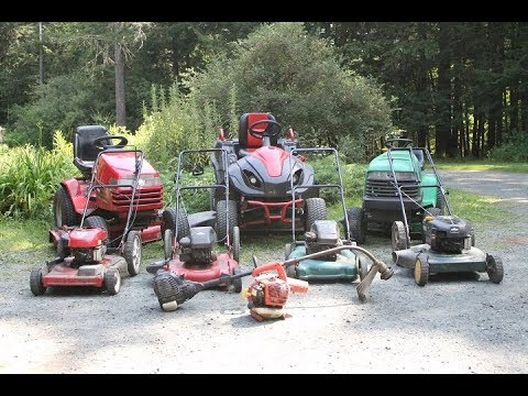 What Does 85 Hp Of Lawn Equipment Sound Like?