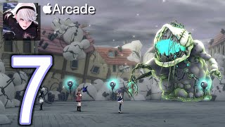FANTASIAN Apple Arcade 2K Walkthrough - Part 7 - East Vence Mecha Infestation, Midi Toy Box Basement
