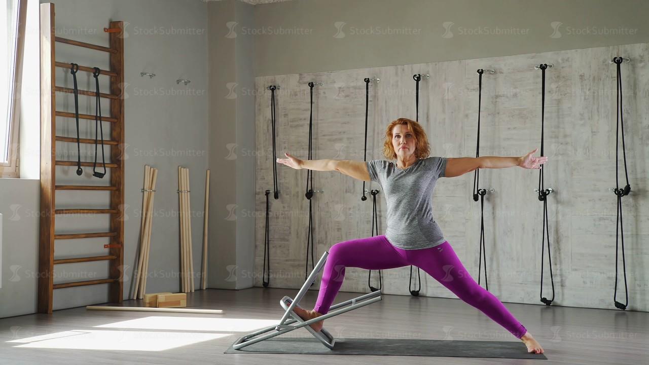 Mature yoga tube