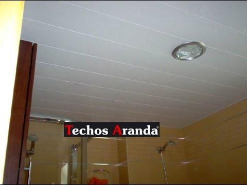 Falso techo aluminio techos de aluminio cocinas ba os - Falsos techos para banos ...