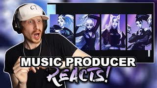 Music Producer Reacts to K/DA - THE BADDEST ft. (G)I-DLE, Bea Miller, Wolftyla