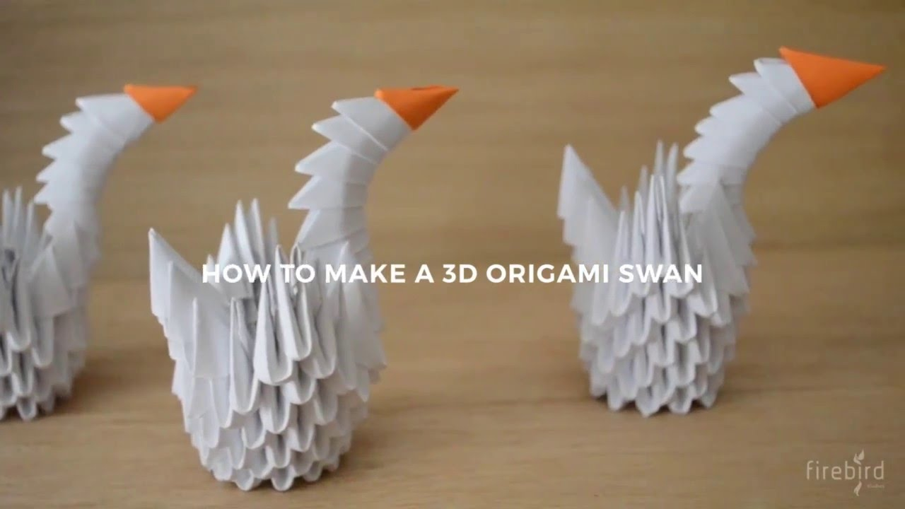 How To Make An Easy Origami Swan - Folding Instructions - Origami ... | 720x1280