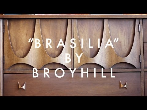 """Brasilia"" Dresser by Broyhill 