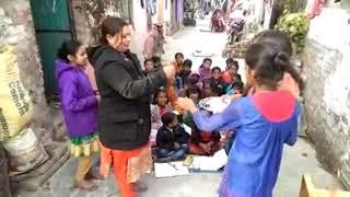 sach-foundation-team-opened-one-more-free-basic-education-center-for-slum-area-children