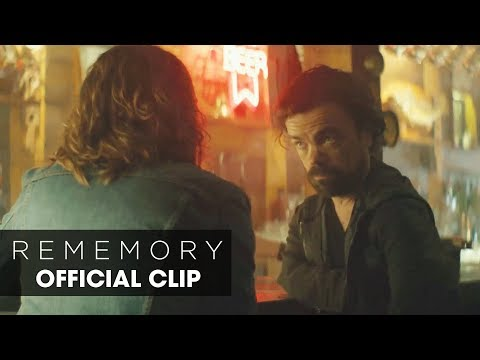 "REMEMORY (2017 Movie) - Official Clip ""Vicariously""  - Peter Dinklage"