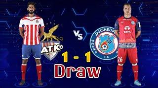 Jamshedpur Fc Vs Atk Kolkata Match Highlights | ATK Vs Jamshedpur FC | NEWS SRW
