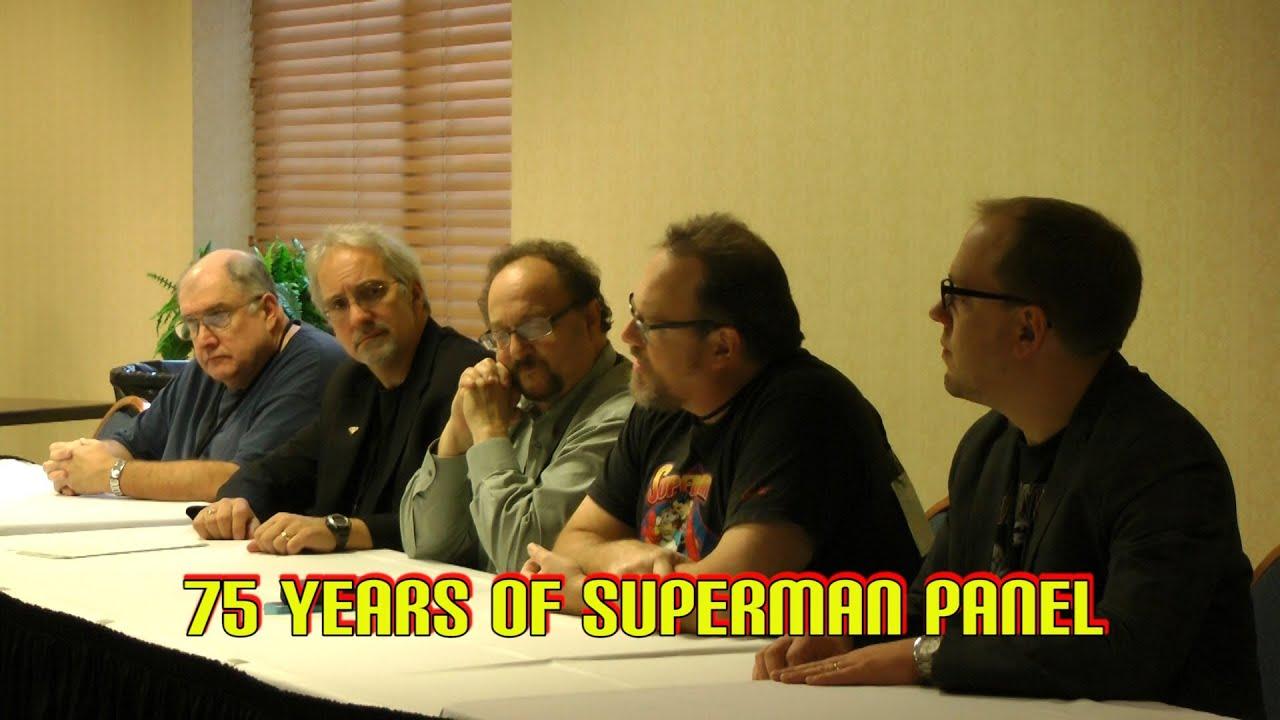 75 Years of Superman Panel