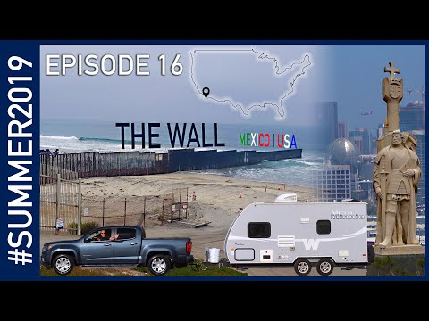 Day Trip To San Diego: The Wall, Old Town, And Cabrillo - #SUMMER2019 Episode 16