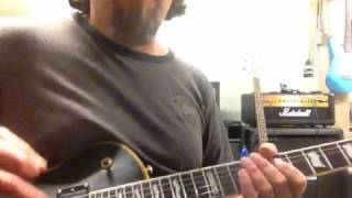 How to play animals by nickelback on the guitar.