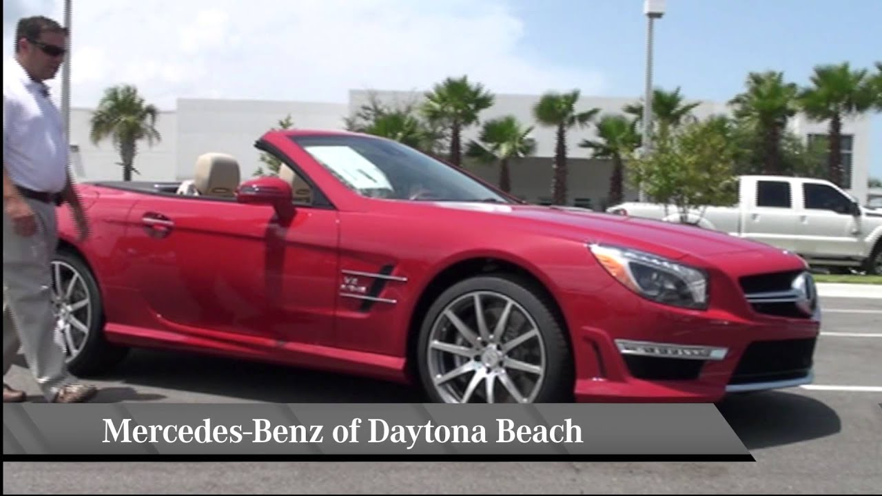 For Sale New 2013 Mars Red Mercedes Benz Sl Class Sl63 Amg