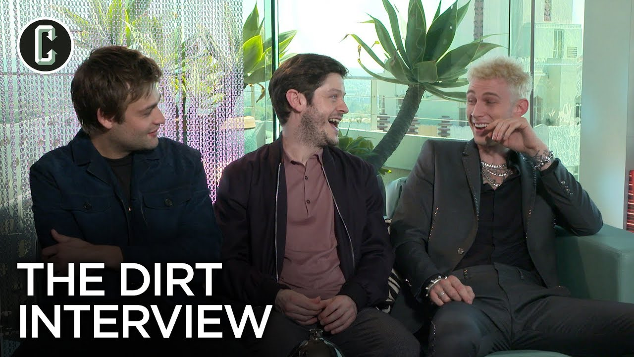 'The Dirt': Machine Gun Kelly, Douglas Booth and Iwan Rheon on Playing Mtley Cre
