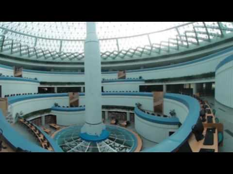The sanctuary of sciences in Pyongyang centre in 360