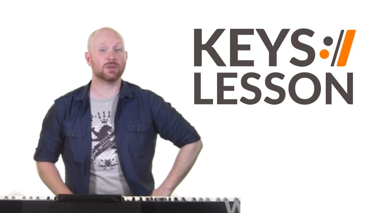 I Will Rise Chris Tomlin Keys Tutorial Youtube