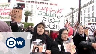 النساء المغربيات يطالبن بإصدار قانون يُجرم العنف ضد المرأة | الأخبار