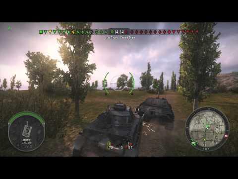 World of Tanks (1) - Tag der Flachwitze - Standard Gefecht [German]