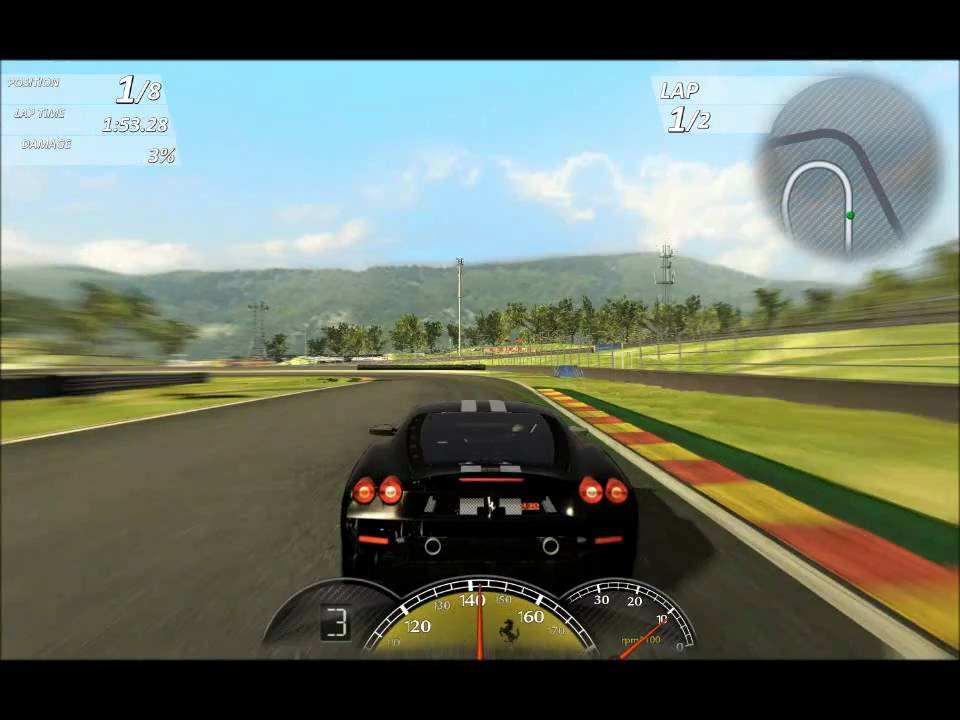Ferrari Games >> Free Games Ferrari Virtual Race Youtube