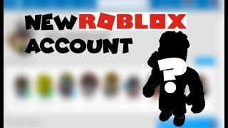 NEW Roblox account -PLS FOLLOW ME-