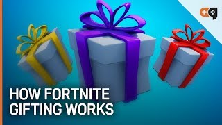 Fortnite: How The New Gift System Works