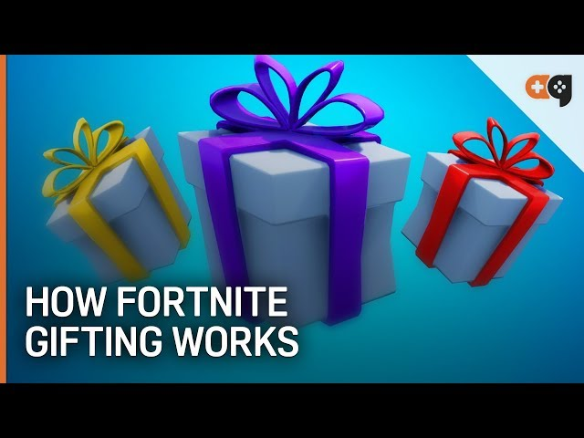 - how to send gifts on fortnite season 8