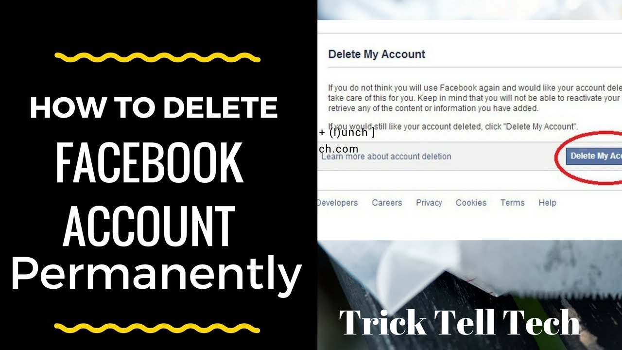 How to delete facebook account permanently with fresh method 2018 at how to delete facebook account permanently with fresh method 2018 at once ccuart Choice Image