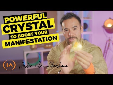 Best Crystal For Boosting Your Manifestations In Wealth And Abundance   3 Steps To Amplify The Power