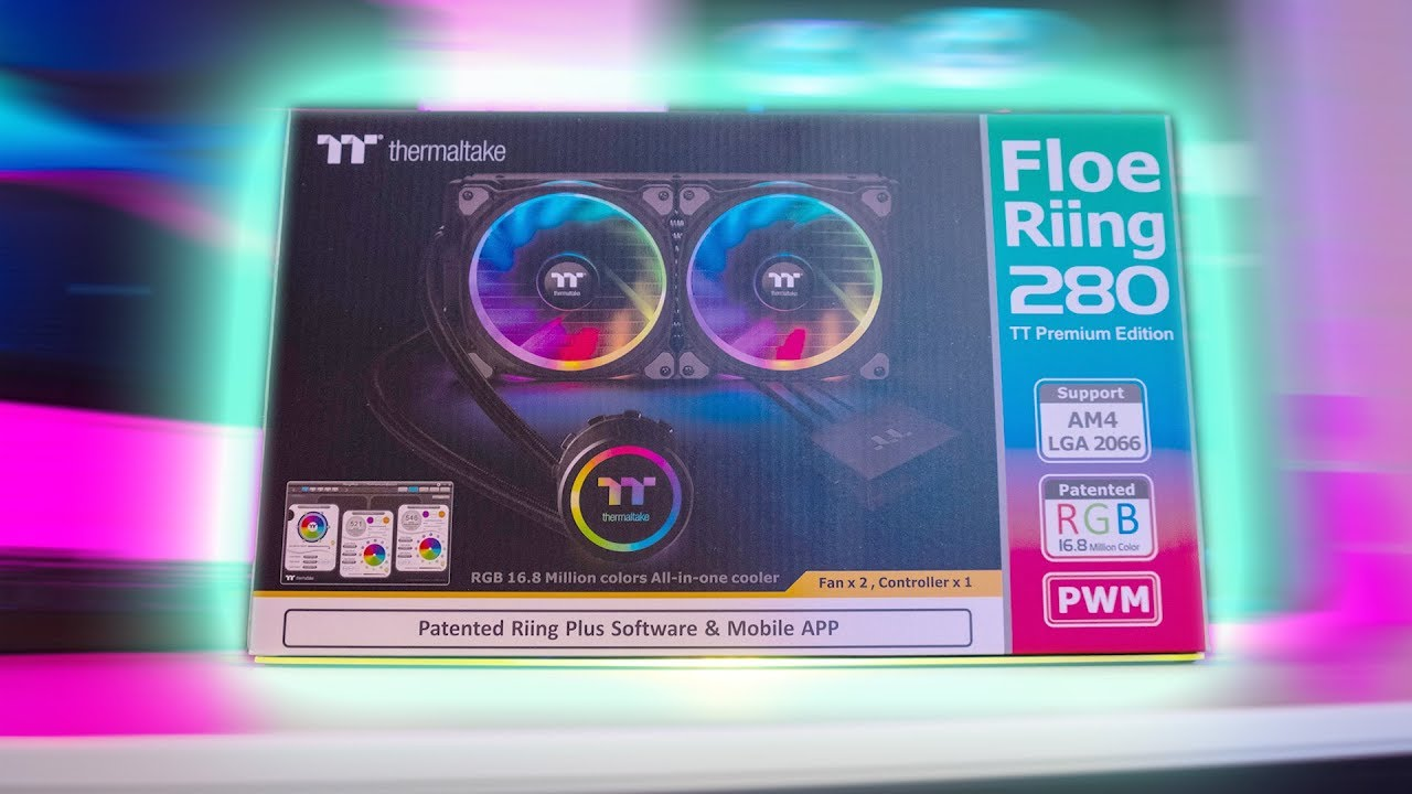 HOWTO Install Thermaltake Floe Riing RGB TT Premium Edition AIO on Socket  1151 and AM4