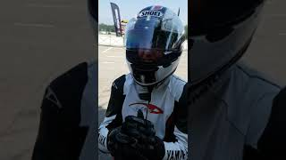 Pillion rides with Troy Corser available with Racing School Europe events #shorts