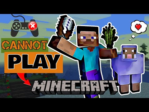 CANNOT PLAY: Minecraft (Island Survival Comedy - Funny Moments - Parody)