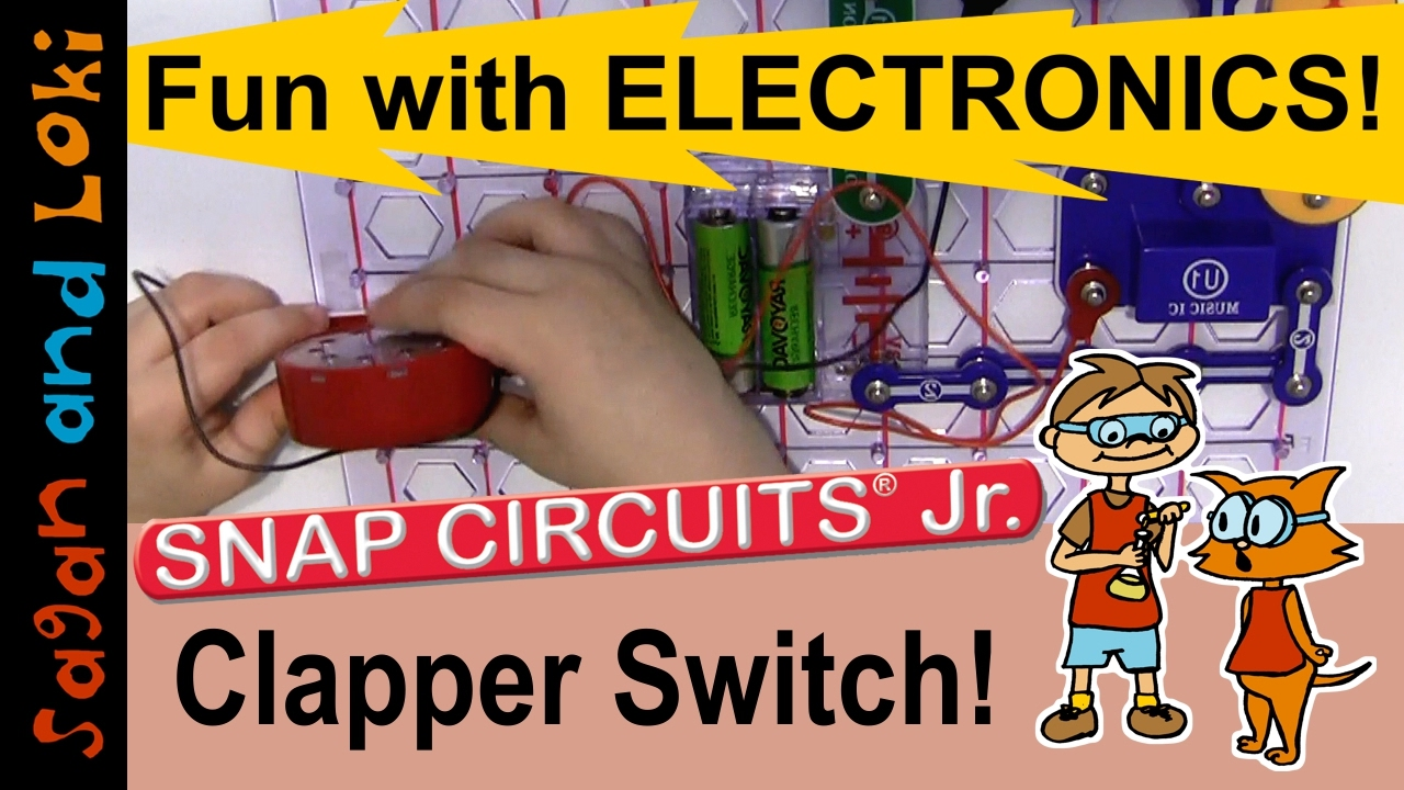 Build A Sound Activated Switch Snap Circuits Jr Projects Ep3 Electronics Learning Stem Homeschooling Pinterest Elenco Snapcircuits
