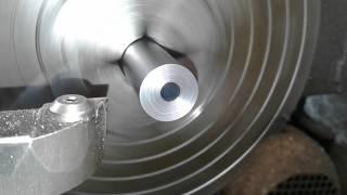 bore alignment for barrel threading