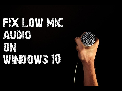 how to add a mic on windows 10