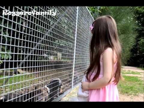 Camilla ThyThy đi sở thú cùng ba mẹ.