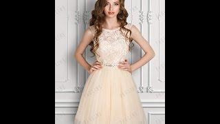 Вечернее платье Бьен Мини (Пудра) TM PAULINE