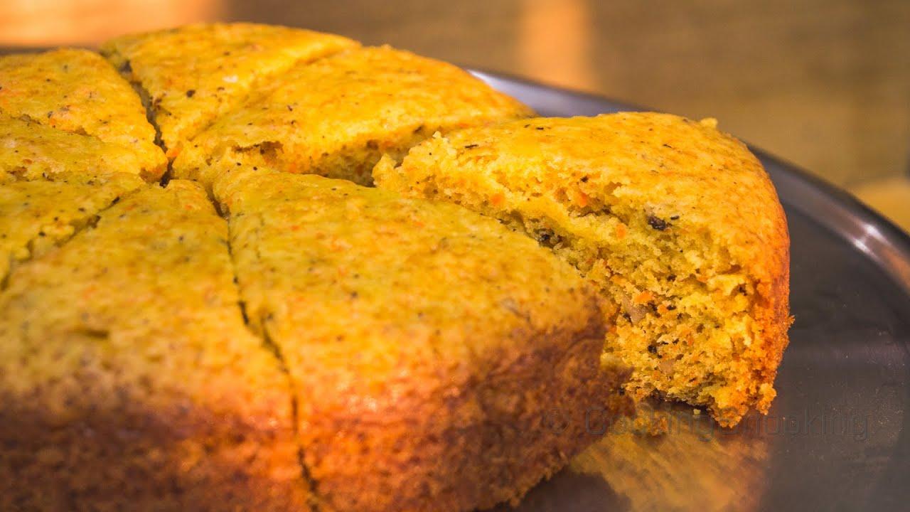 Recipe for no egg carrot cake