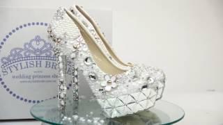 Самые шикарные свадебные туфли 2016 года