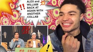 ALEX AIONO AND WILLIAM SINGE, BLACK BEATLES, NO PROBLEM, & CONFESSIONS MASHUP COVER REACTION