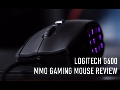 GAMING MOUSE UNBOXING!!! | Logitech g600 gaming mouse