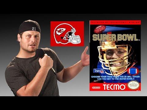 Tecmo Super Bowl - NES - Kansas City Chiefs - Tecmo Madison XIII Training with Mort