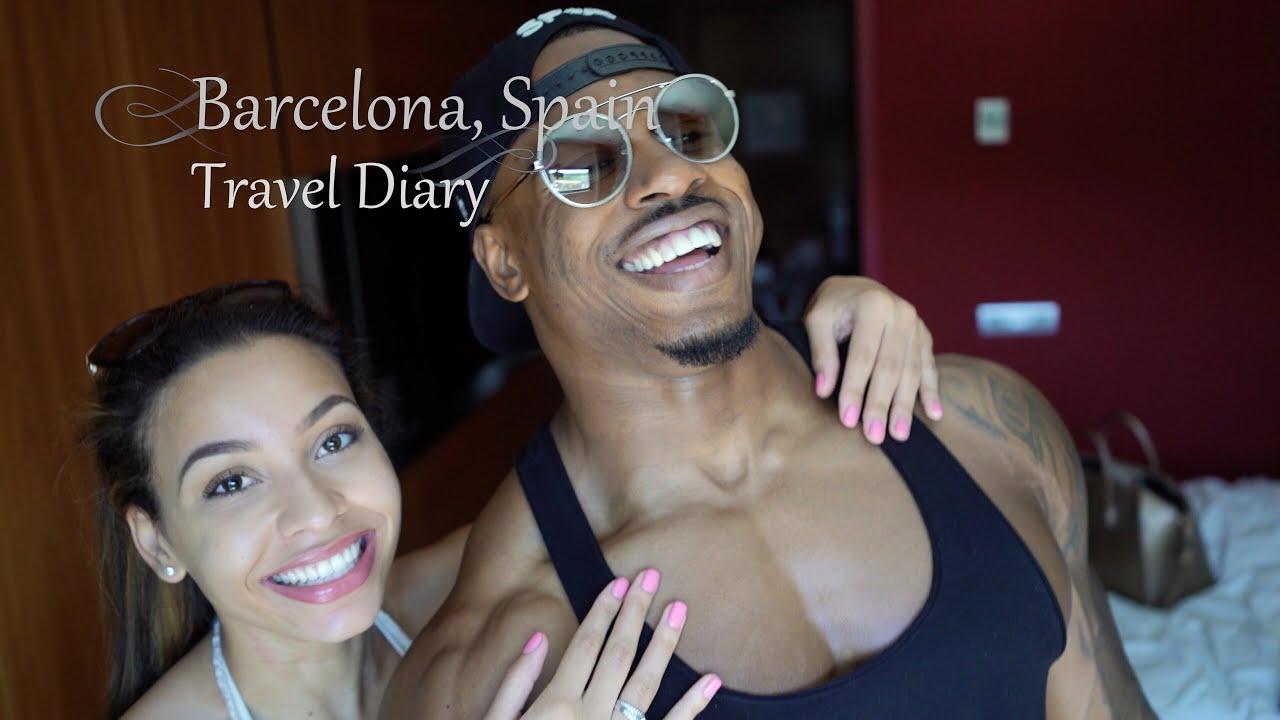Barcelona VLOG!! | Simeon Panda | Chanel Coco Brown