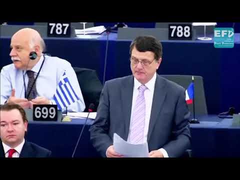 EU Police State Criminal Justice System Gerard Batten European Parliament, Strasbourg, OCT 25, 2017