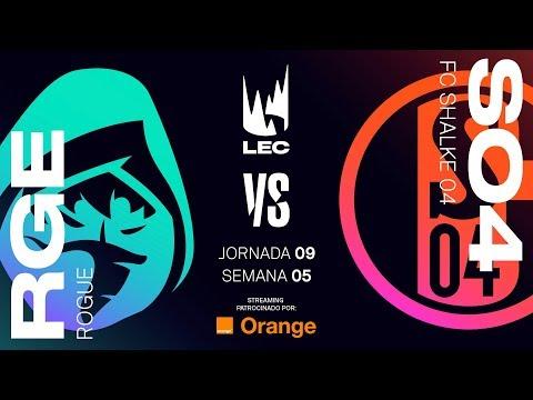 ROGUE VS SCHALKE04 | LEC | Spring Split [2019] League of Legends thumbnail