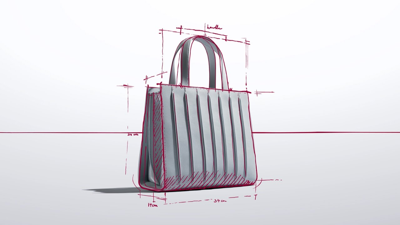 The Max Mara Whitney Bag designed by Renzo Piano Building Workshop - YouTube 558f8851827