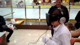 Кирилл и 3D шлем