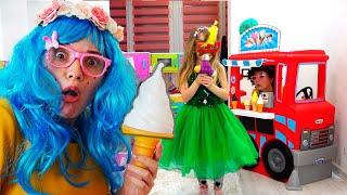 Настя мама папа история с продавцом мороженного для детей